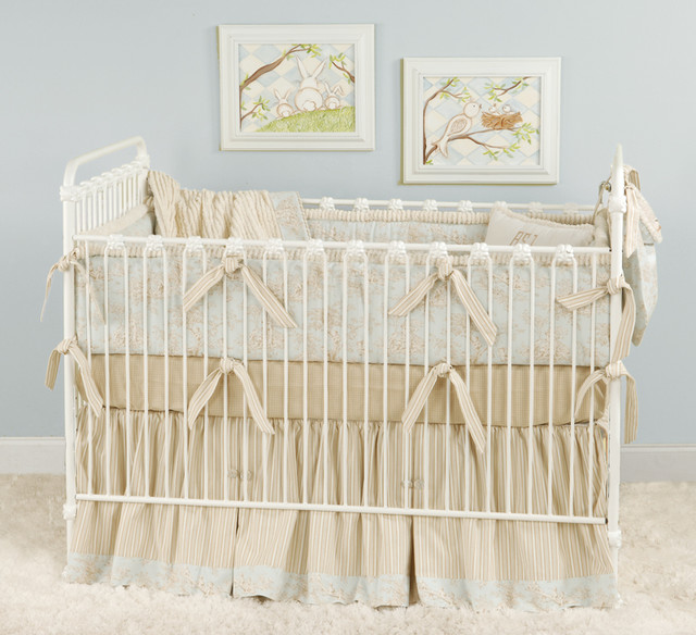elegant crib bedding 3