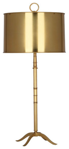 robert abbey porter table lamp antique brass transitional table lamps