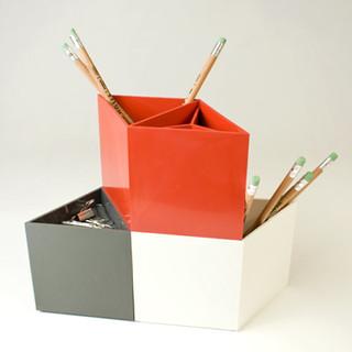Rhombins modern desk accessories by canoe - Modern desk organizers ...