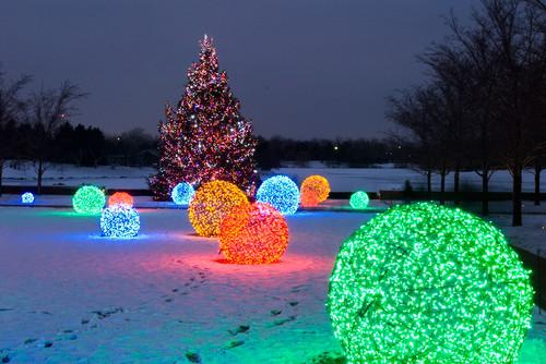Additional Holiday Lighting Spheres
