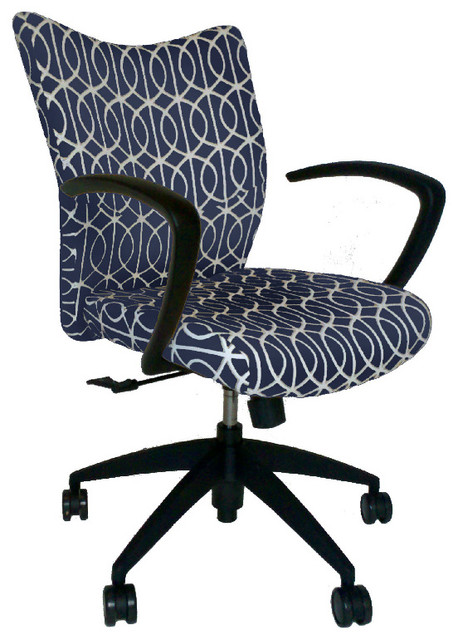 upholstered office chair contemporary office chairs by belle