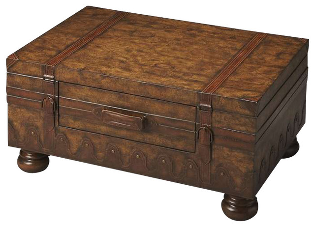 Butler Trunk Table Heritage Traditional Coffee Tables
