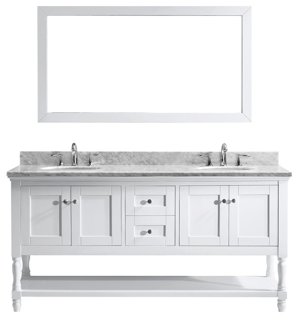 vanity set white double round sink traditional bathroom vanities and