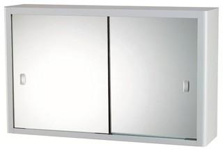 Medio Metal Shaving Cabinet - Modern - Medicine Cabinets - by bunnings ...