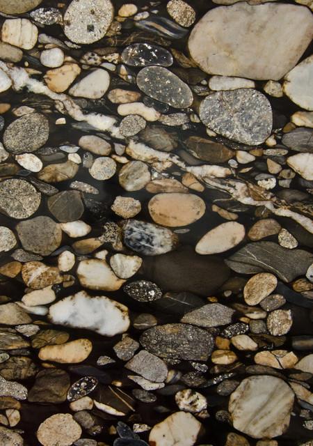 Black Granite Rock : Black mosaic gold granite marinace eclectic