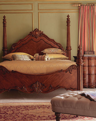 Edwardian Bedroom Furniture Traditional Beds By