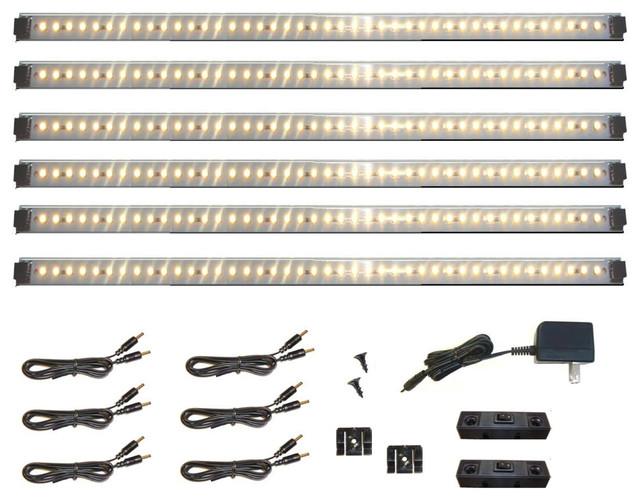 Inspired LED Lighting- Pro Series 42 LED Super Deluxe Kit - Undercabinet Lighting - Phoenix - by ...