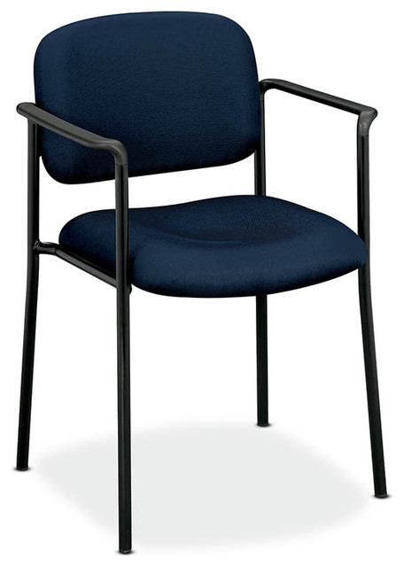 vl616 guest chair with arms contemporary office chairs by rulers