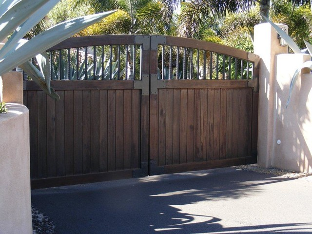 Old World Gate Collection Wood And Iron Gates