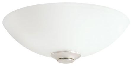 Palla satin nickel bowl fixture contemporary ceiling for Window palla design