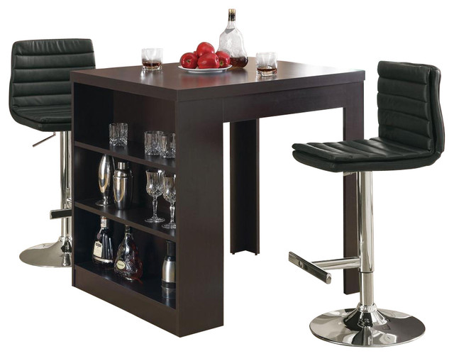 Pc Counter Set w Table - Contemporary - Indoor Pub And Bistro Sets ...