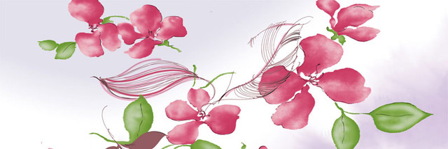 oil painting pink flower - photo #9