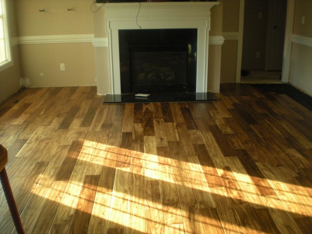 Tobacco road acacia hardwood flooring other metro by for Virginia mills acacia