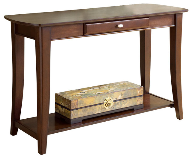 Hammary Enclave Sofa Table Traditional Console Tables