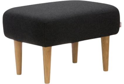 wilbo repose pieds en tissu scandinave repose pieds pouf et cube par habitat officiel. Black Bedroom Furniture Sets. Home Design Ideas