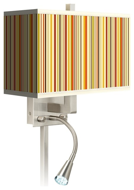 Stacy Garcia Lemongrass LED Reading Light Plug-In Sconce - Contemporary - Wall Lighting