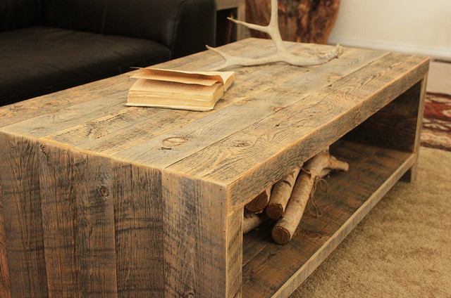 Reclaimed Wood Coffee Table Modern Coffee Tables