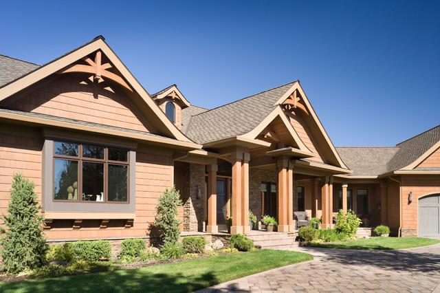 Award winning energy star luxury mountain home for Award winning craftsman home designs