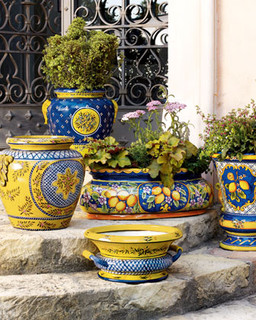 Provence Oblong Planter Traditional Outdoor Pots And