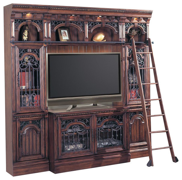 Victorian Tv Stand: Parker House, Barcelona Entertainment Library Space Saver