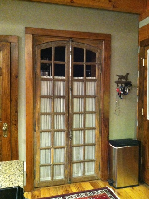 Antique French Doors Lead To Laundry Room Traditional Interior Doors Nashville By Leland