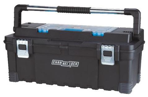 "26"" Poly Tool Box With Organizer - Modern - Garage And Tool Storage ..."