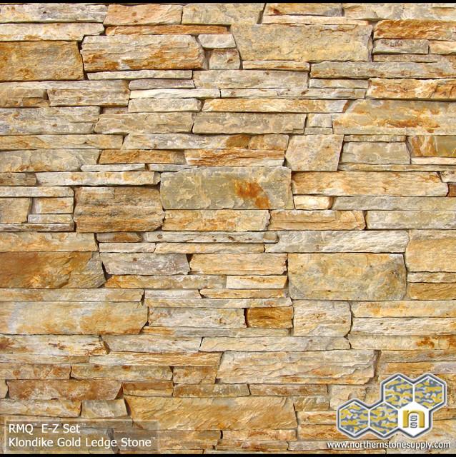 Ledger Stone Veneer : Klondike gold ledge stone™ stacked stone veneer