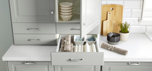 SEKTION/BODBYN/MAXIMERA Wall Cabinet With Two Drawers