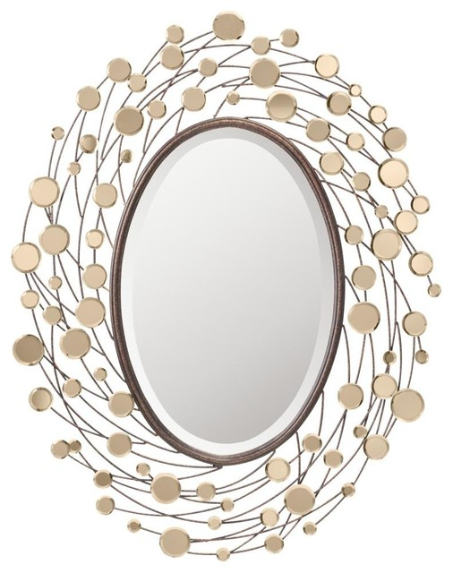 """Kichler Mirror, 31.5"""" x 39.5"""" - Contemporary - Wall Mirrors - by ..."""