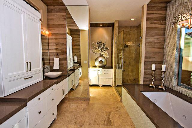 Troon remodel scottsdale arizona transitional for Bath remodel scottsdale
