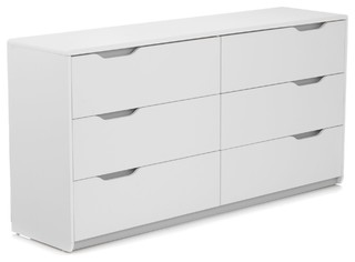 Cool commode blanche 2 fois 3 tiroirs contemporary chests of drawers - Commode blanche 3 tiroirs ...