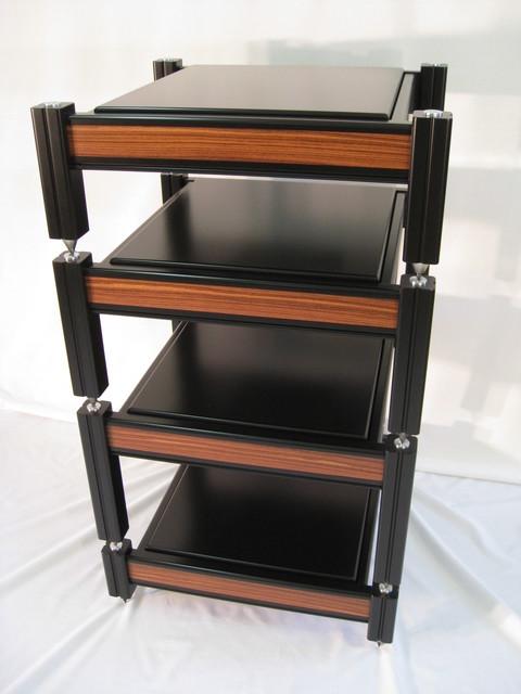 Custom Audio Rack contemporary-furniture