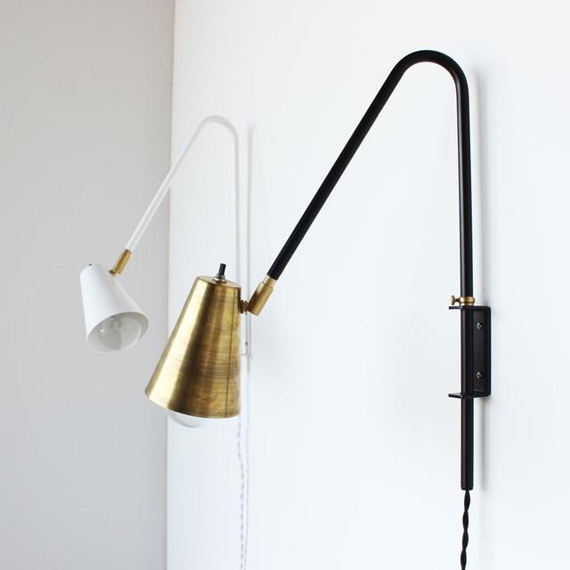Wallace Lamp - Trendy - Væglamper med svingarm - af Onefortythree
