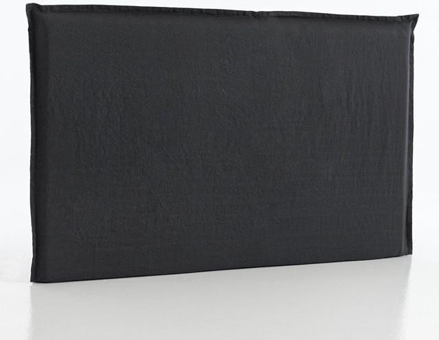 Housse t te de lit chanvre lav sandor contemporary for Housse duvet