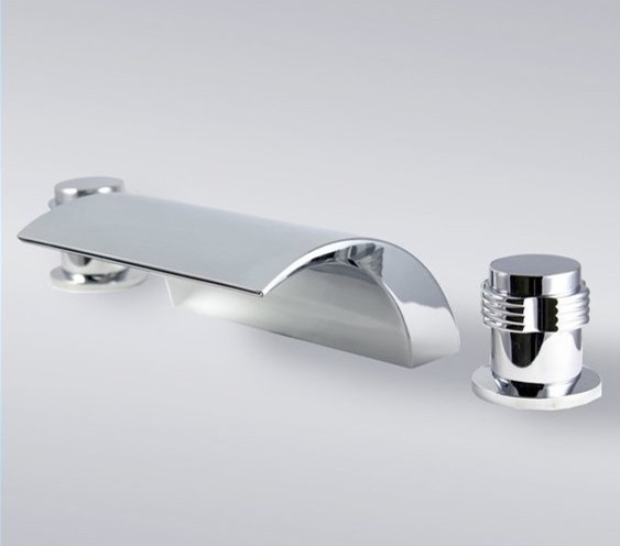 Bathroom Faucets Modern : ... Roman Bath Tub Faucet contemporary-bathroom-faucets-and-showerheads