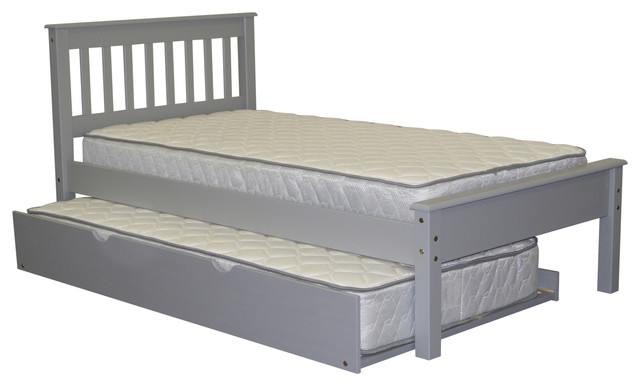 twin trundle bed converts to king 2