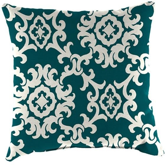 Small Square Decorative Pillows : Small Square Outdoor Throw Pillow - Traditional - Outdoor Cushions And Pillows