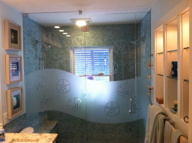 bathroom remodel beach style