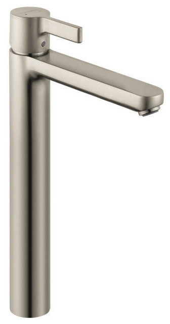 Hansgrohe Metris S Single Hole Tall Vessel Faucet in Polished Chrome - Contemporary - Bathroom ...