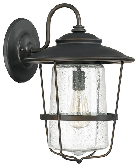 Capital Lighting Creekside Wall Lantern Farmhouse Outdoor Wall Lig