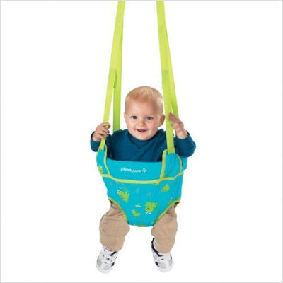 Johnny Jump Up Classic In Frog Modern Baby Swings And