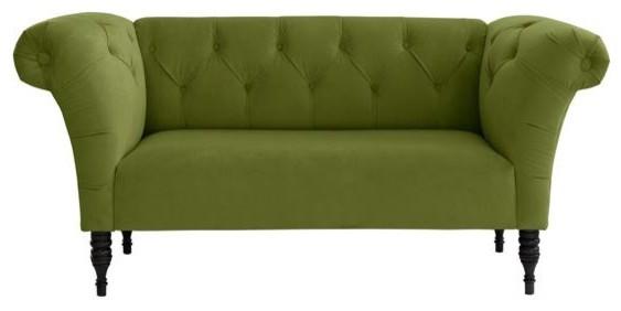 tufted chaise lounge sofa 1
