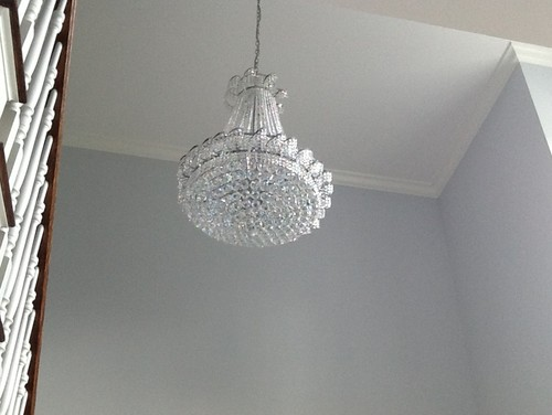 Do Wall Sconces Have To Match Chandelier : How close do I need to match chandeliers.