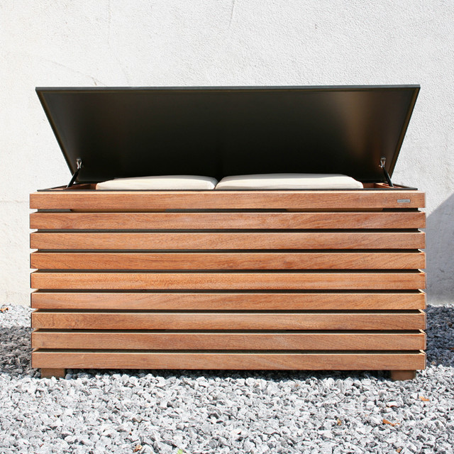 forte kissentruhe conmoto industrial gartenboxen truhen von found4you. Black Bedroom Furniture Sets. Home Design Ideas