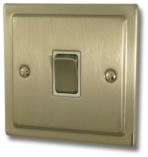 Satin nickel sockets an switches modern light switches plug sockets other metro by - Modern switches and sockets ...