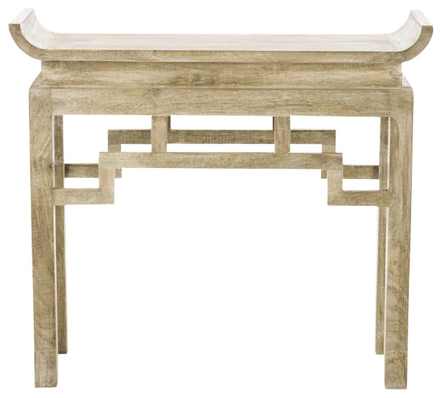 arteriors home chen console asiatique console. Black Bedroom Furniture Sets. Home Design Ideas