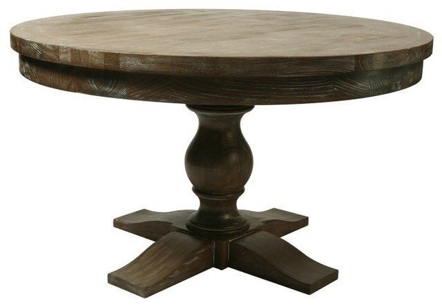 Utopia Round Dining Table Traditional Dining Tables