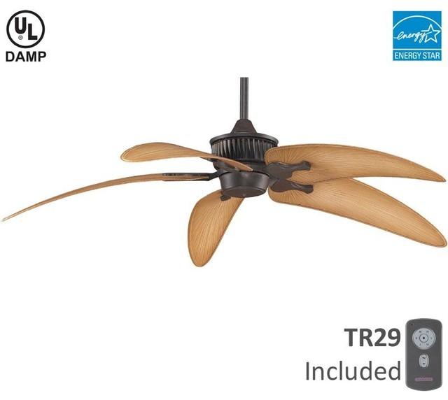 Rust Fan Motor Without Blades Contemporary Ceiling Fan