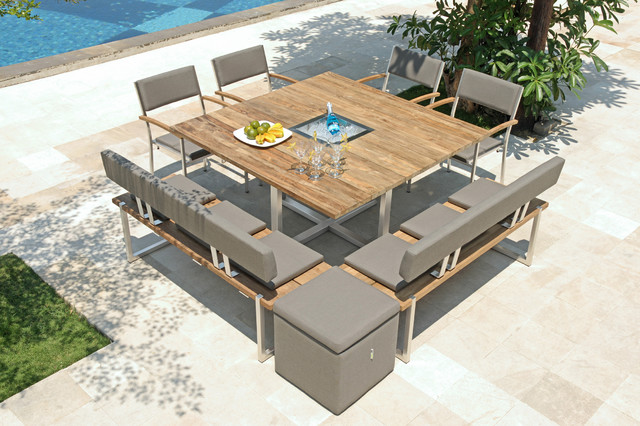 tisch quadux modern outdoor gartenm bel other metro von zebra. Black Bedroom Furniture Sets. Home Design Ideas
