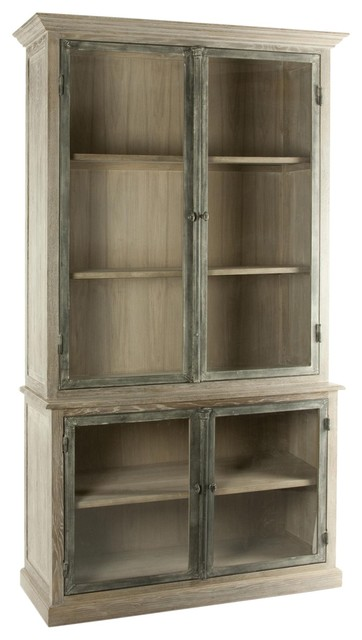 Aidan Gray Darby Bookshelf - Eclectic - Bookcases - other metro - by Candelabra